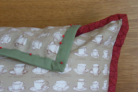 """Cup of Tea"" Cushions"