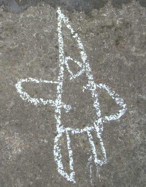 Chalk Rocket