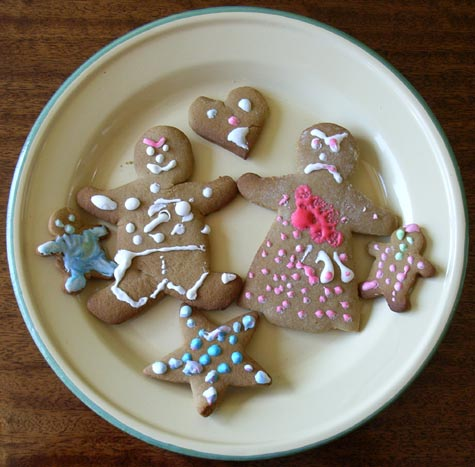 Angry Gingerbread People