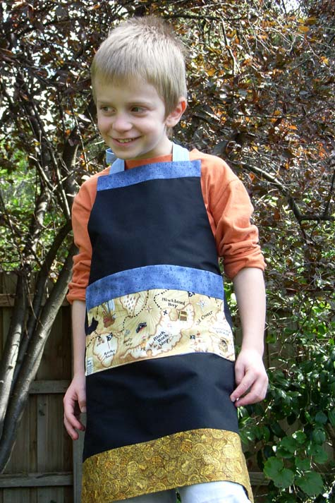 Rory in Pirate Apron