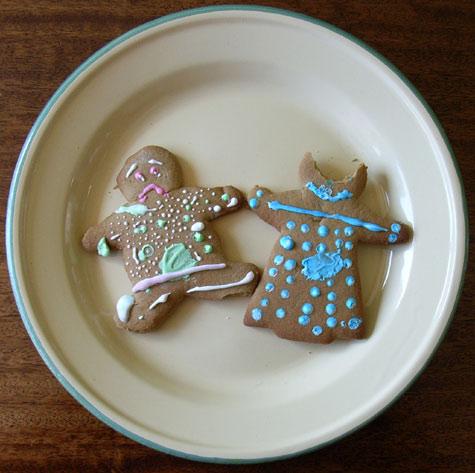 Sad Gingerbread People