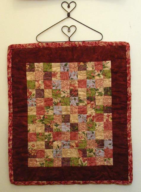 Tiny Rose Garden Quilt
