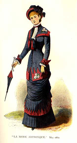 1880 costume colour
