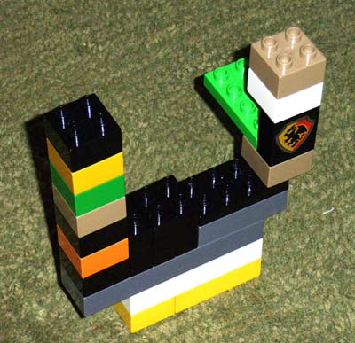Michaela\'s Lego Castle