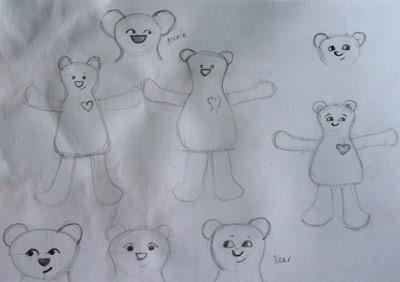Sketch bears