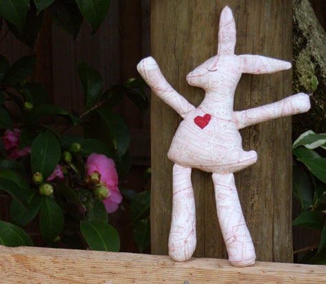 Littlc Cloth Bunny Rabbit