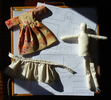 Cloth Doll Work In Progress