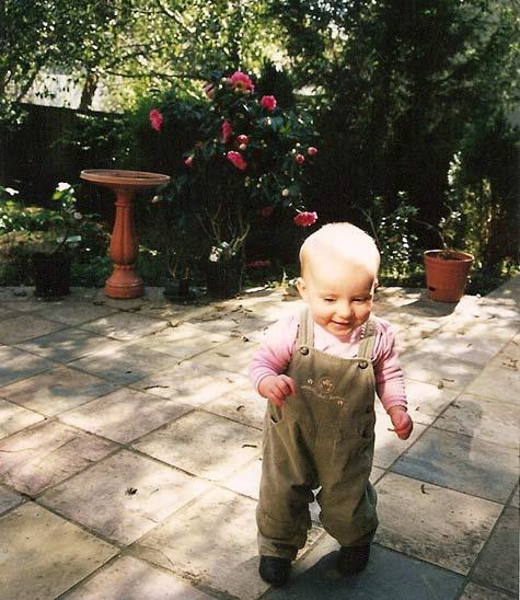 Amelia starts to walk