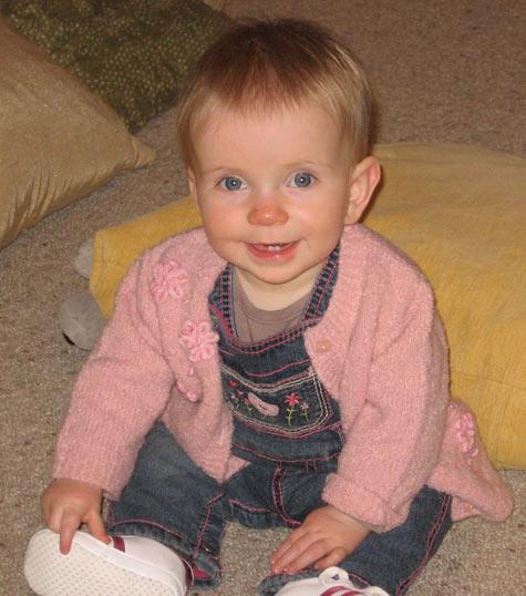 Michaela 11 months