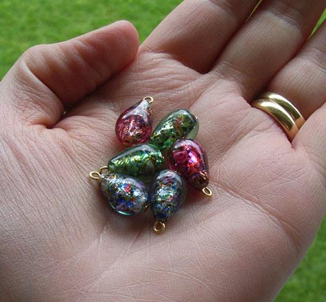 3 Pairs of Beads