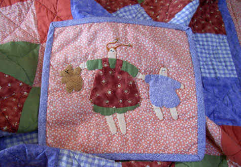 Michaela\'s Quilt and Wall Hanging