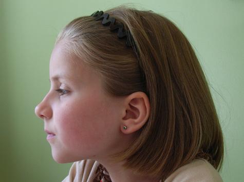 Amelia did get her ears