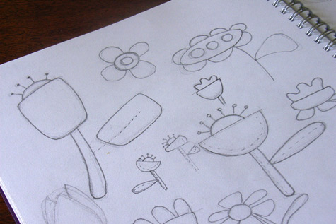 20090310-flowersketches