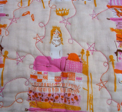 Princess and the Pea fabric