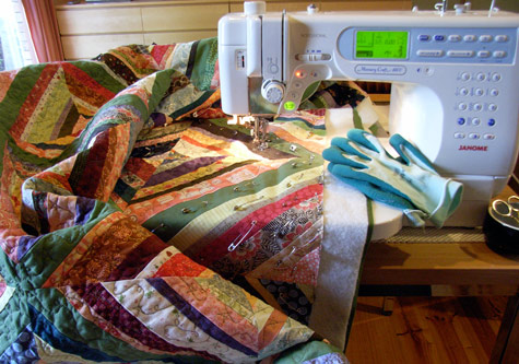 My mum's sewing machine