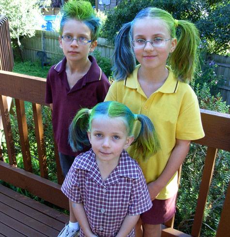 Crazy Hair Day 2011