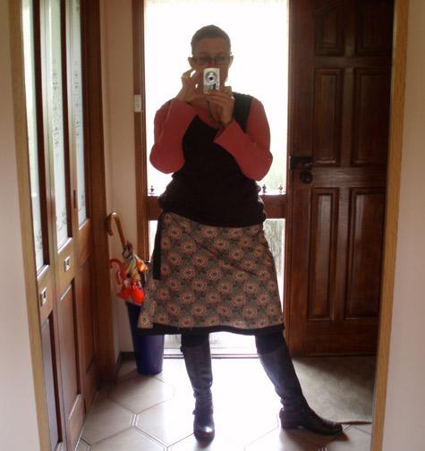 Low Light photo of skirt
