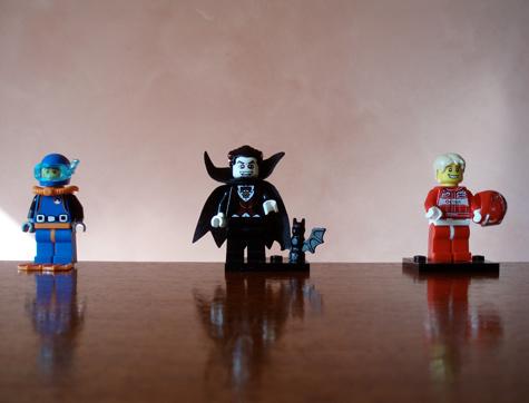Lego Minifigure - Vampire