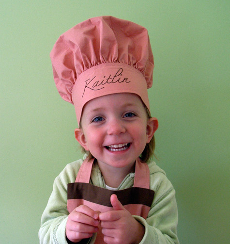 Kaitlin's Chef Hat