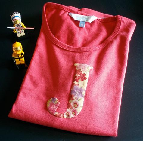 J Shirt for Jaide