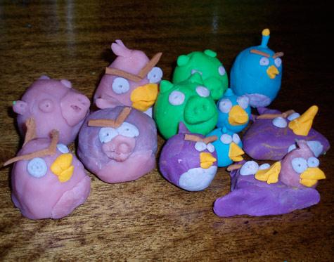 Plasticine Angry Birds