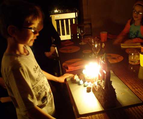 Rory blows out 9 candles