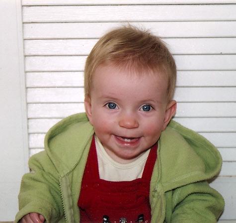 11 month old Michaela