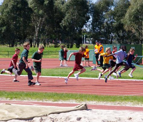 100m sprint 1