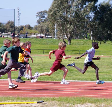 100m sprint 2
