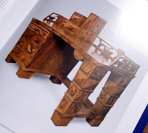 Writing Desk designed by Dagobert Peche