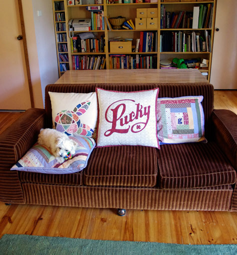 Lucky cushion 2