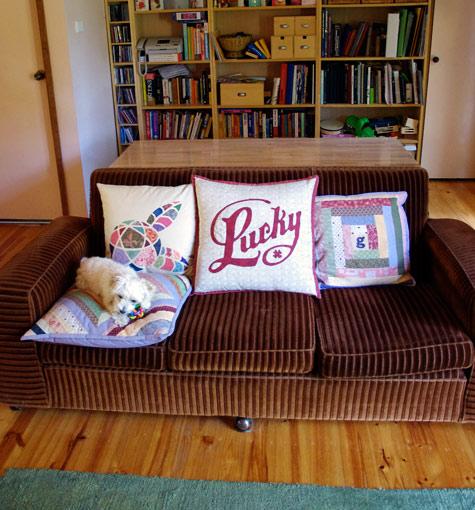 Lucky cushion 2