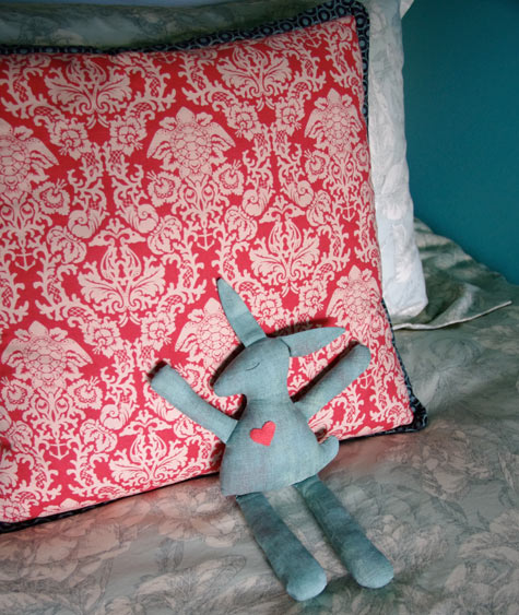 Aqua Baby Bunny Softie