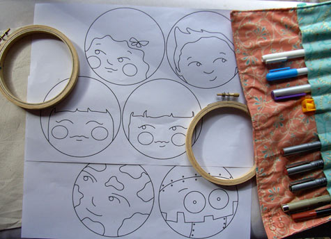 Hoop faces from 2010