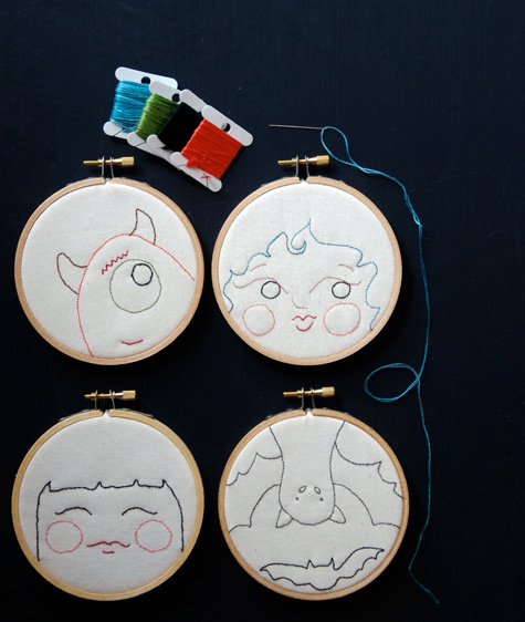 More Hoop Faces