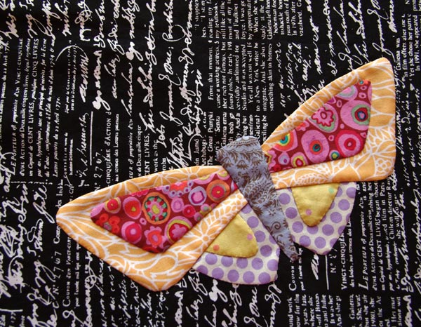 """All a Flutter"" bright butterfly ""D"""