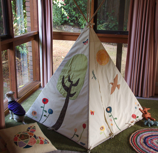 Woodland Play Tent by Matching Pegs