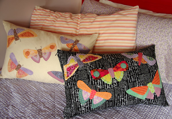 """All a Flutter"" by Matching Pegs in two different colour ways"