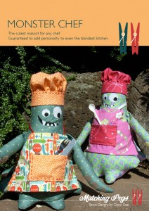 Monster Chef - Pattern by Matching Pegs
