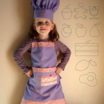 Junior Chef - Apron pattern by Matching Pegs