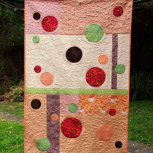 Bubbles - Quilt pattern by Matching Pegs