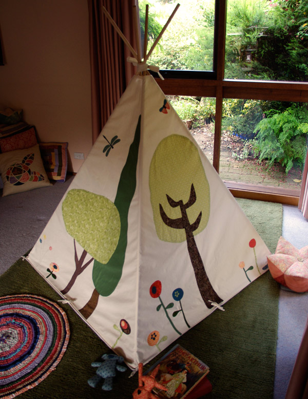 Woodland Play Tent - Pattern by Matching Pegs