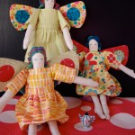Butterfly fairy soft toy - pattern by Matching Pegs