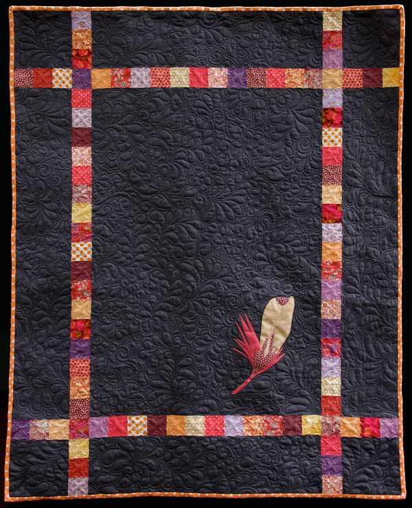 Feather Quilt - pattern by Matching Pegs