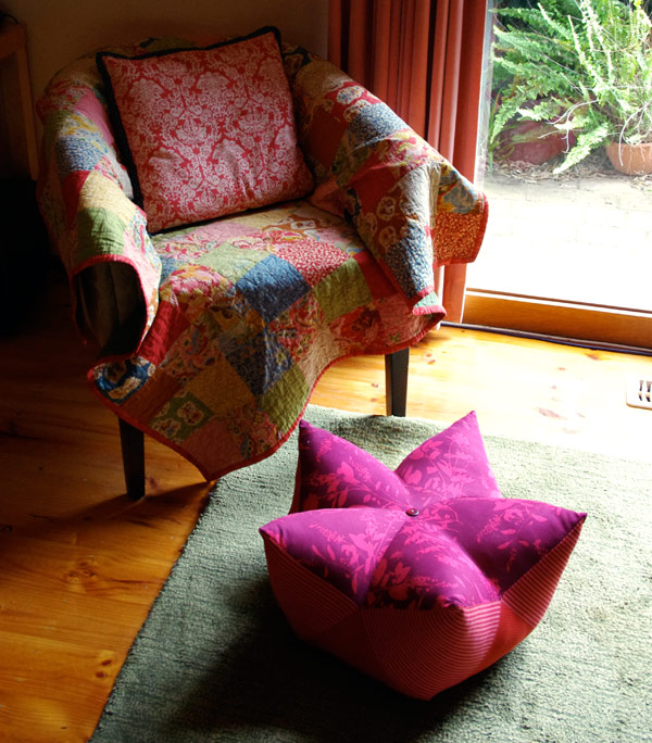 Start Fruit Footstool - Tutorial by Matching Pegs