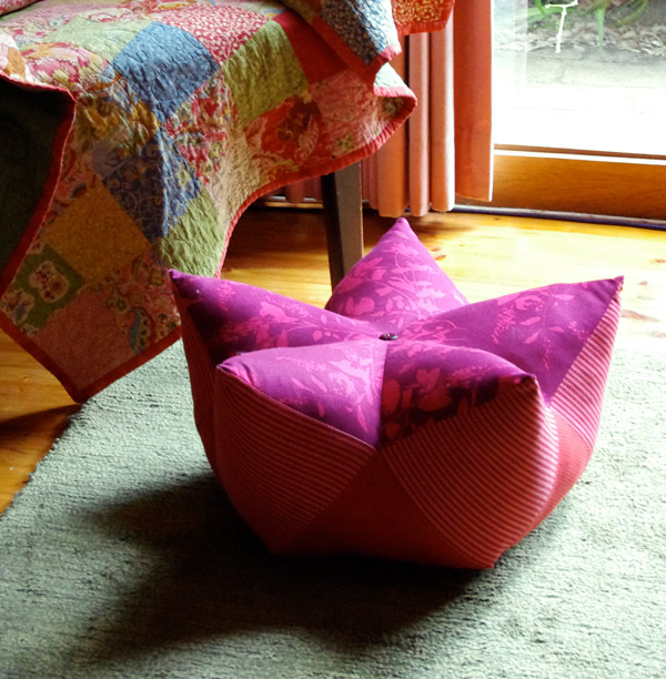 Starfruit Footstool - Tutorial by Matching Pegs