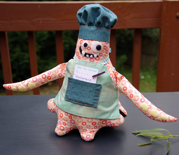 Monster Chef, pattern by Matching Pegs