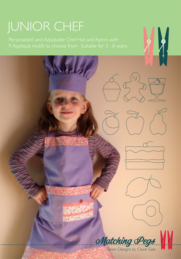 Junior Chef Cover, Pattern by Matching Pegs