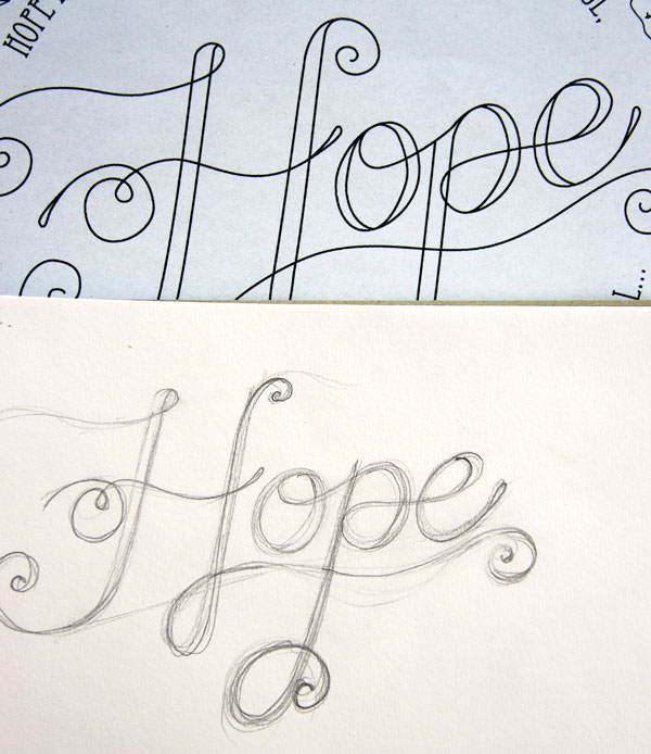 Hope, a sketch for a new project