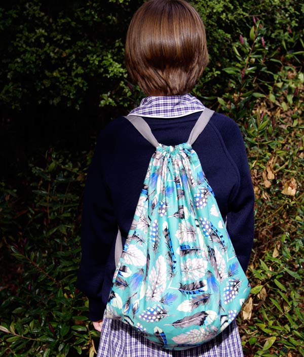 Quick Drawstring backpack sports bag